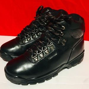 Colorado Hiking Boots WOMENS Size 4 BLACK LEATHER